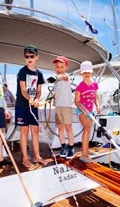 Семейный яхтинг BELVEDER