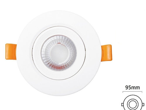 Empotrable LED circular Blanco