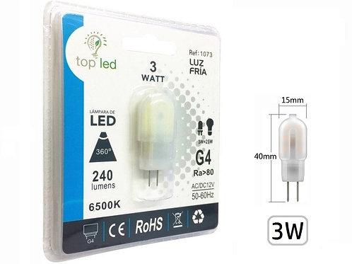 Bombilla led 3w G4 Dc12v