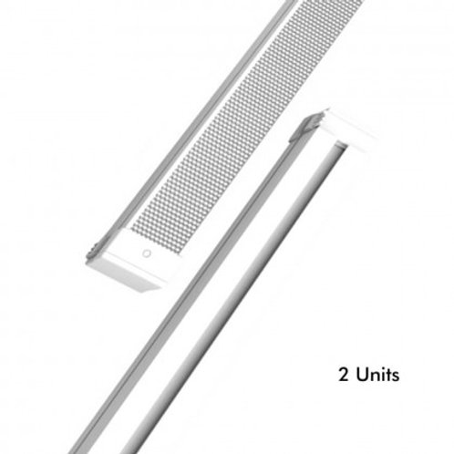Barra LED 28W Lineal KIEL DYNAMICS para Techos tecnicos - Pack 2 unidades