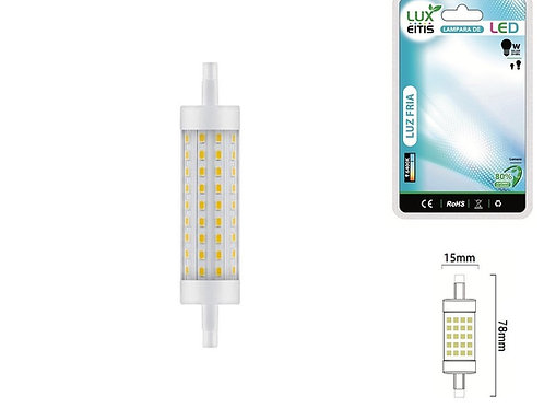 Bombilla led lineal 6w R7S 78mm