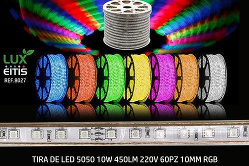 Tira led 10w SMD5050 220v