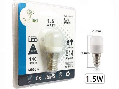 Bombilla led mini 1,5w E14