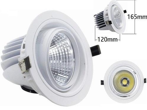 Downlight foco giratorio COB 30w