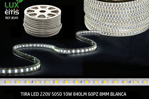 Tira led 7.5w SMD5050  220v