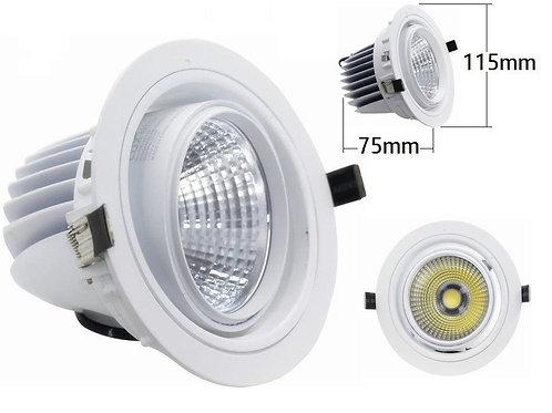 Downlight foco giratorio COB 16w