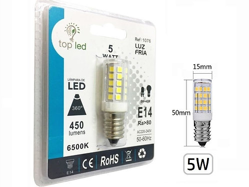 Bombilla led mini 5w multipunto