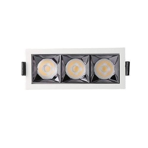 Empotrable LED 15W OSRAM Chip PALACE 24º UGR17 140lm/W