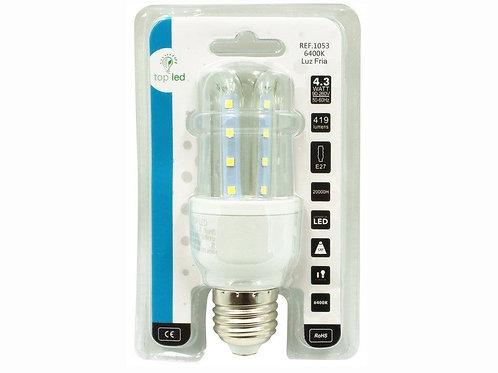 Bombilla led 3U 4,3w E27