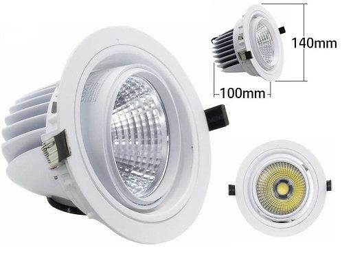 Downlight foco giratorio COB 22w