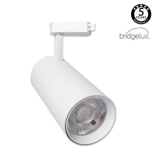 Foco LED 30W MAYA Blanco Carril Monofásico DOB Driverless