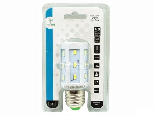 Bombilla de LEDs E27 5050SMD Mazorca