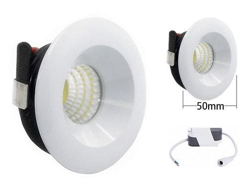 Downlight mini foco led 3w
