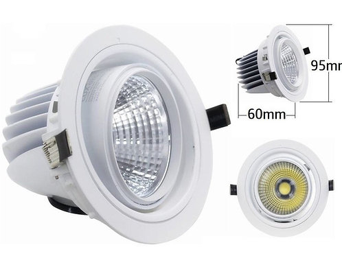 Downlight LED Empotrable basculante120º