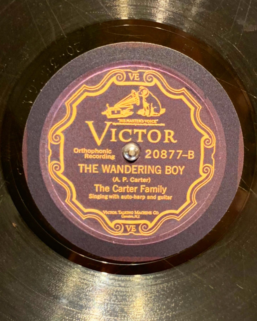 The Carter Family The Wandering Boy