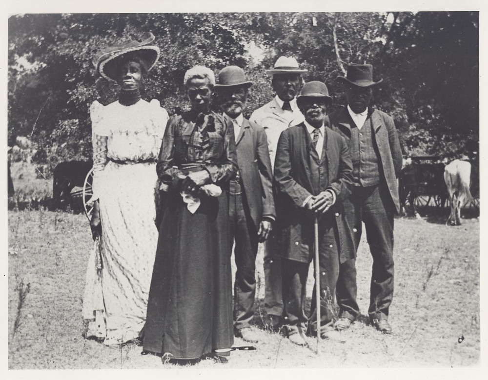 Juneteenth in 1900 at Eastwoods Park. Austin, Texas