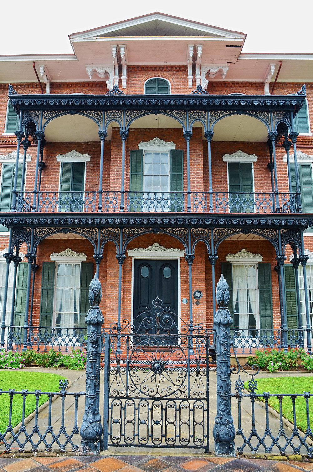 Ashton Villa in Galveston, Texas. General Order No. 3 was read from the balcony on June 19, 1865