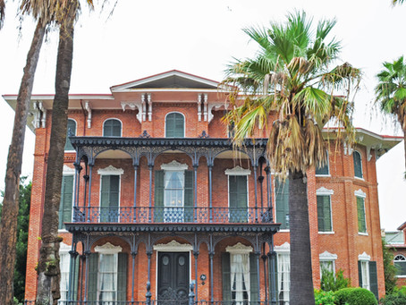 Ashton Villa: 1859 Brick Mansion Stands Strong in Galveston, Texas