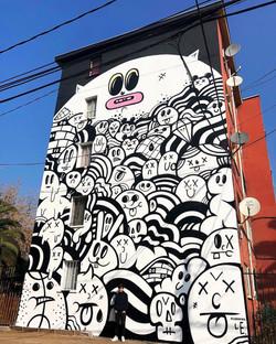 Mural Pedro Aguirre Cerda
