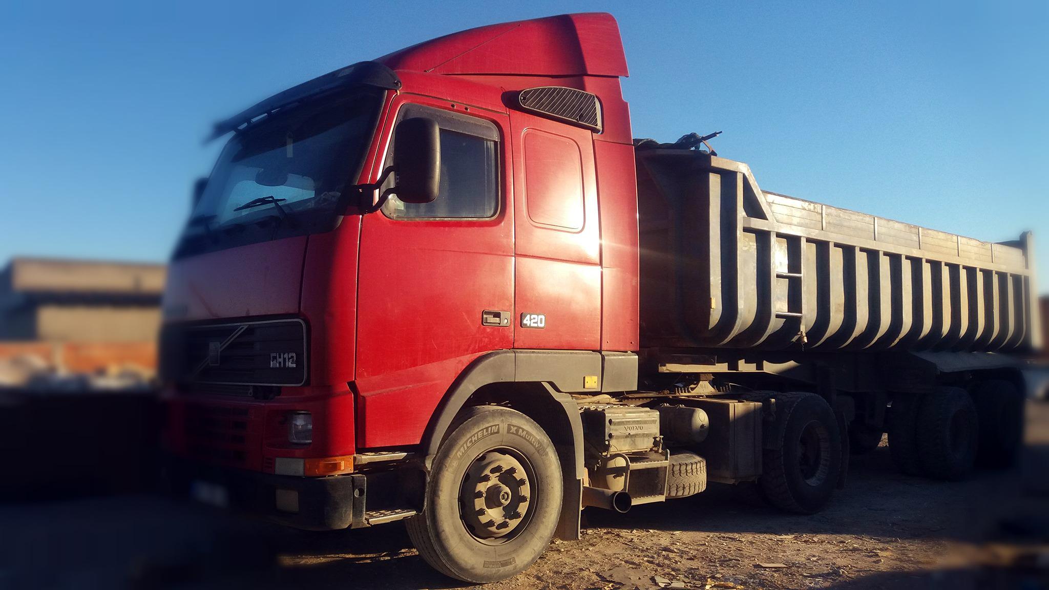 Camião Semi-reboque