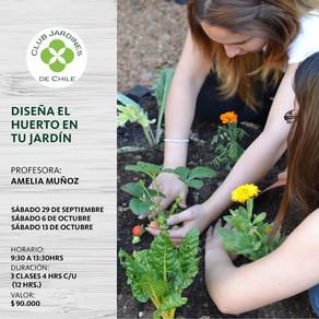 Diseña el huerto en tu jardín