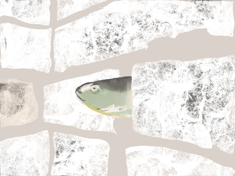 Berlin Toy Fish in Brick