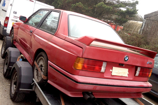 Donor, road going E30 M3