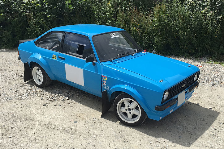 mk2 escort rally car restoration