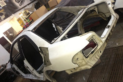 Sub frames being removed