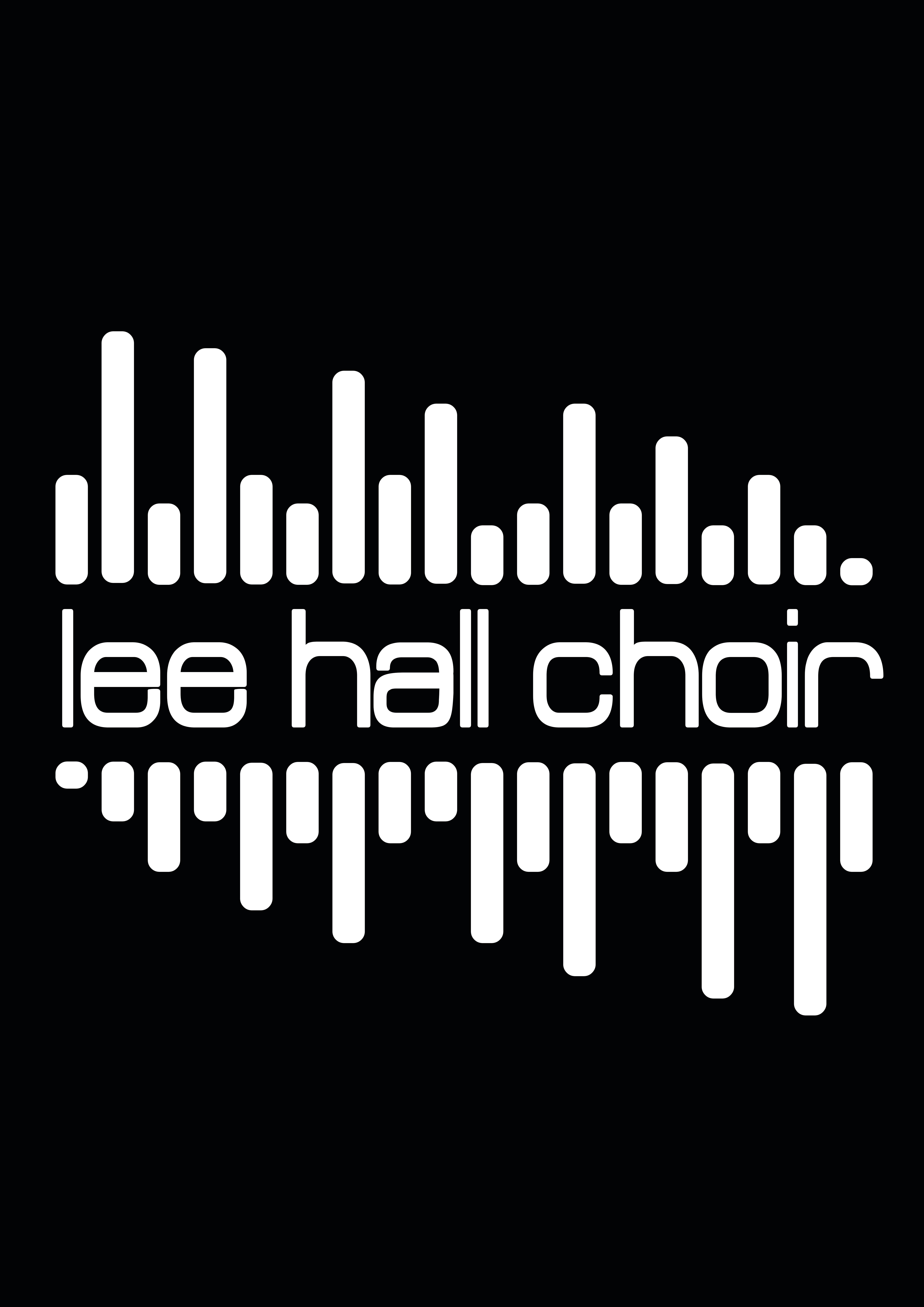 Lee Hall Choir Hoodie Front