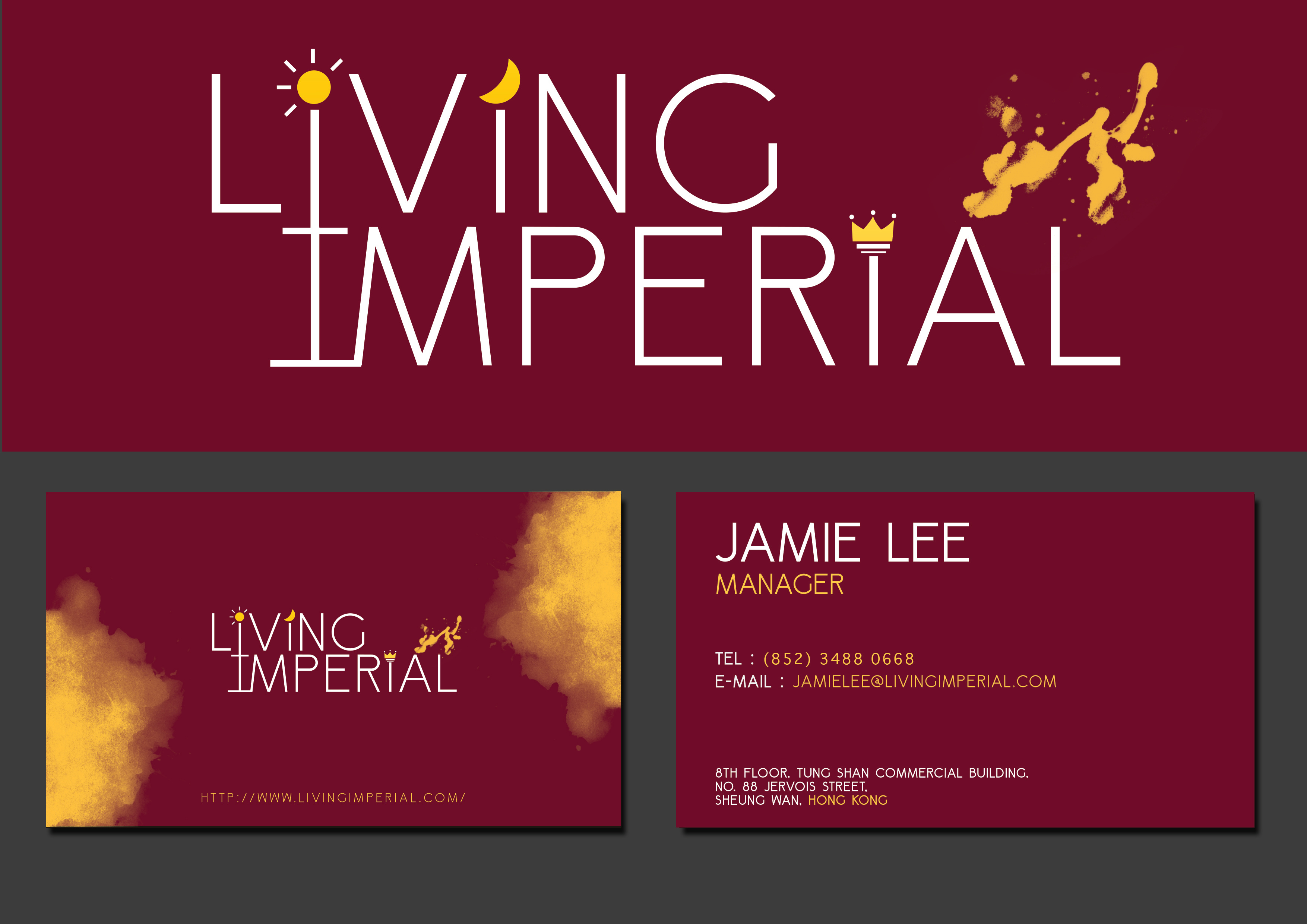 DesignCrowd - Living Imperial