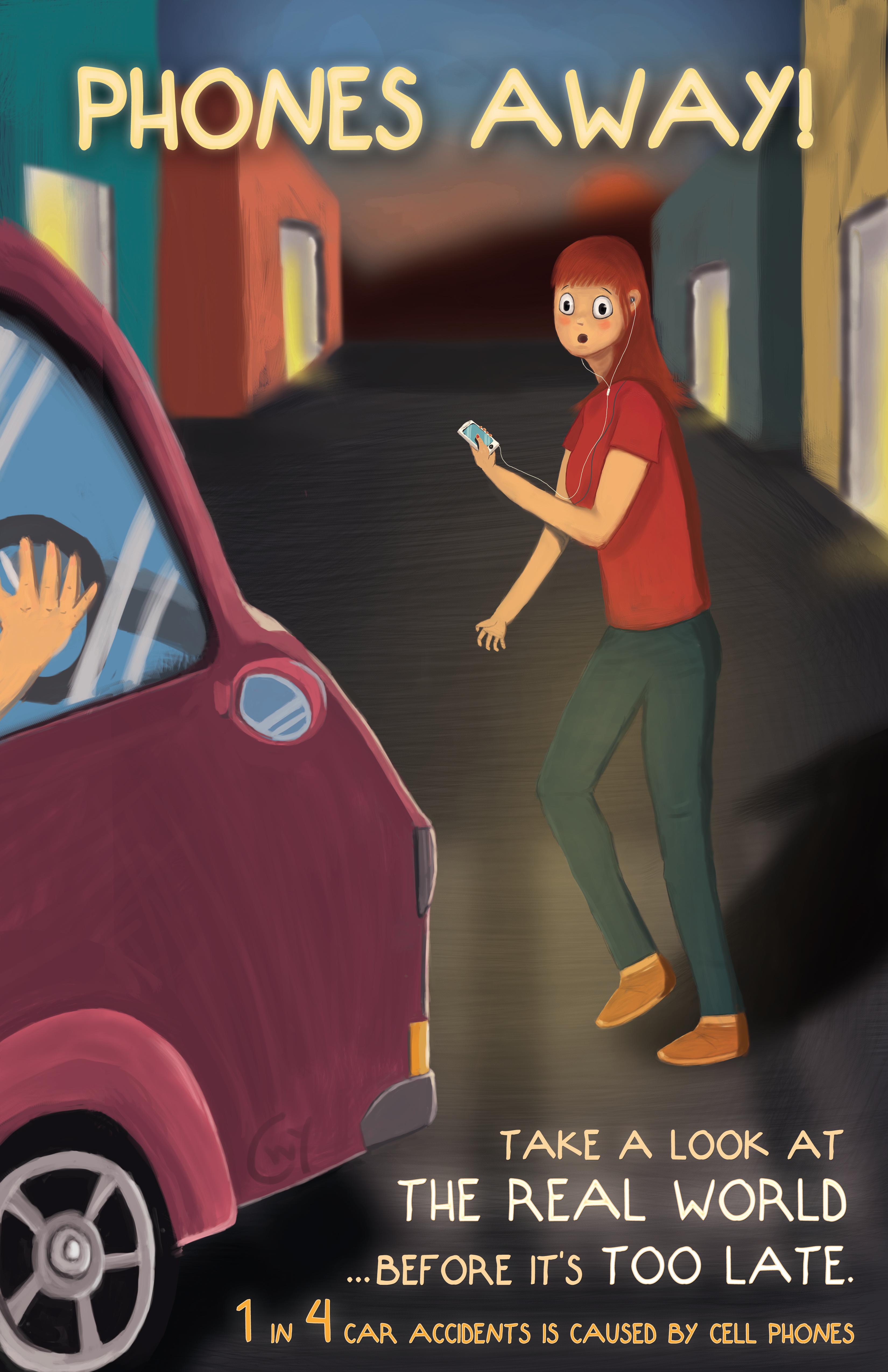 Poster Design - Pedestrian Safety
