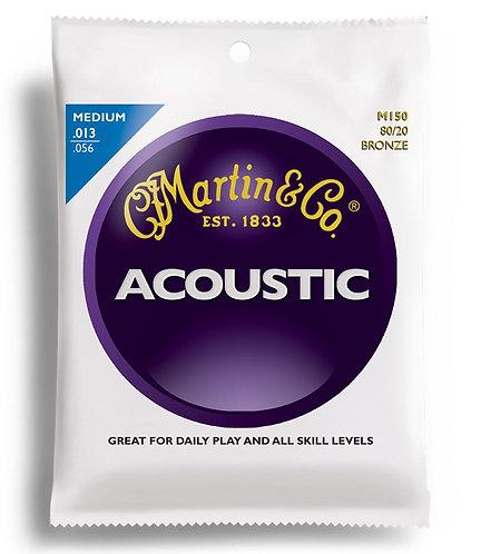 Martin M-150 80/20 Bronze Acoustic Strings Medium