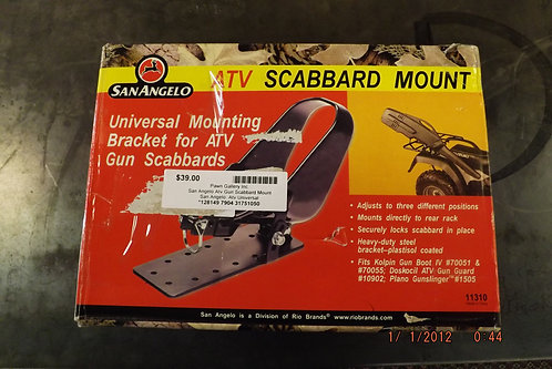 ATV scabbard mount
