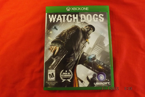 Watchdogs xbox one game