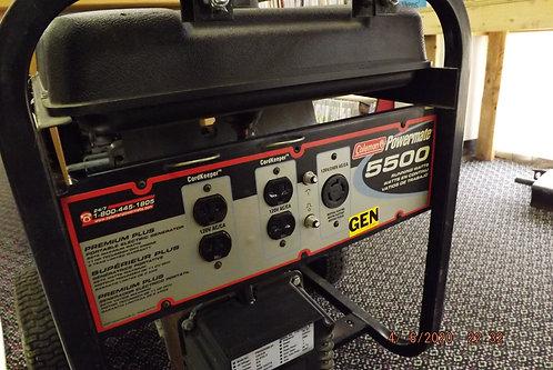 Coleman powermate generator 5500