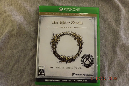 The Elder Scrolls XBOX ONE game