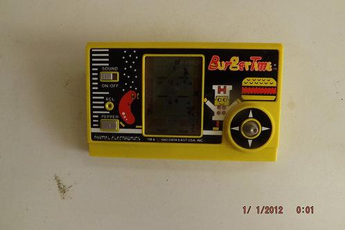 1982  Mattell BurgerTime handheld game