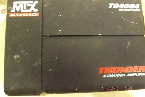 MTX audio 400 watt amplifier