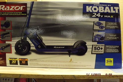 kobalt razor electric hub motor scooter
