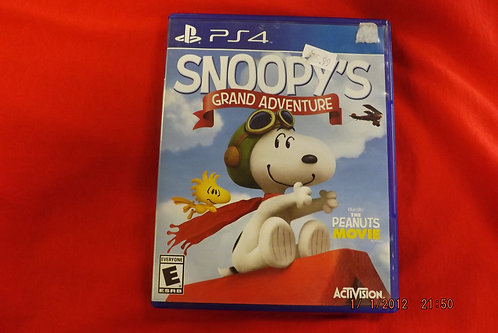 Snoopy's Grand Adventure PS4 game