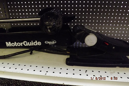 Motorguide trolling motor 45 lb thrust gator mount