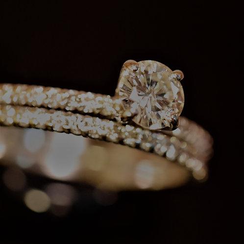 Almost New Beautiful Diamond Wedding Set