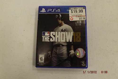 TheShow 18 ps4 game