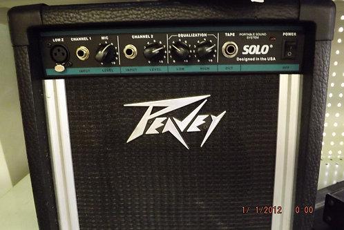 Peavey solo guitar amp[