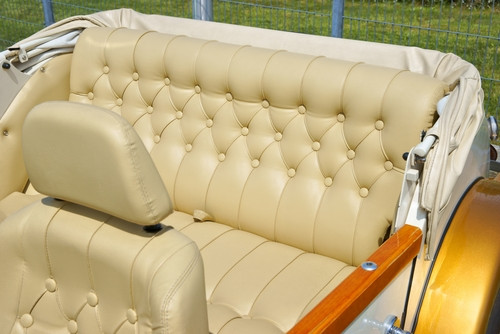 How to maintain my classic car upholstery