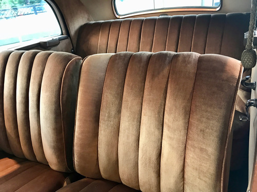 How do you reupholster a classic car seat