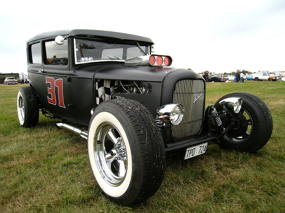 How to paint hot rod black