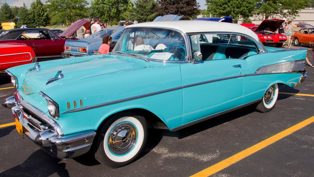 1957 Chevy c10 air ride suspension