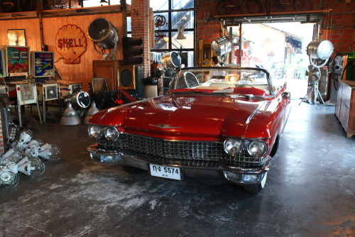 How can I store a classic car without a garage